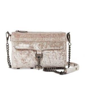 NEW Rebecca Minkoff Velvet Mini Mac Crossbody Bag